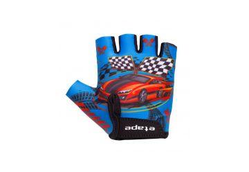 Etape – dětské rukavice TINY, modrá 7-8 - 1