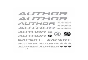 Samolepky Author na rám Expert (pod lak) 2016 bílá - 1