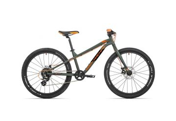 Rock Machine Blizz 24 mat khaki/neon orange/black 2021 - 1