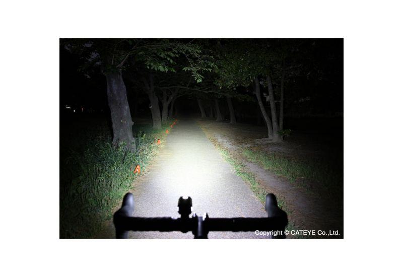 Světlo př. CAT HL-EL084RC AMPP400 - černá - 2