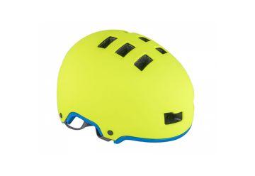 Přilba Author Lynx X9 - 192 žlutá-neonová/modrá - 1