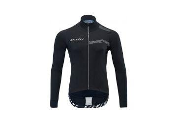 Pánská membránová cyklo bunda Silvini Ghisallo MJ1600 black-white - 1
