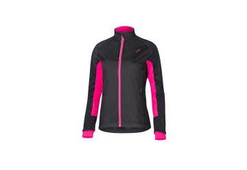 Etape – dámská zimní bunda FUTURA WS, černá/růžová - 1