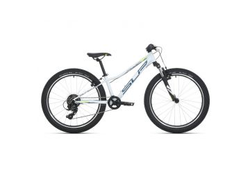 Superior Racer XC 24 Gloss White/Petrol Blue/Neon Yellow 2021 - 1