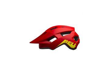 BELL Spark JR Mat/Glos Red/Hi-Viz - 1