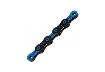 Řetěz KMC DLC 12 modro/černý v krabičce - 1