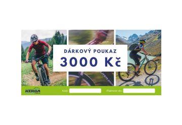 Dárkový poukaz v hodnotě 3000Kč - 1
