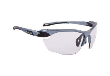 Sportovní fotochromatické brýle Alpina TWIST FIVE HR VL+ , tin-black - 1