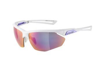 Sportovní brýle Alpina Nylos HR,white-purple - 1