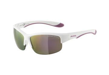 Dětské sportovní brýle Alpina Flexxy Youth HR, white matt-purple - 1