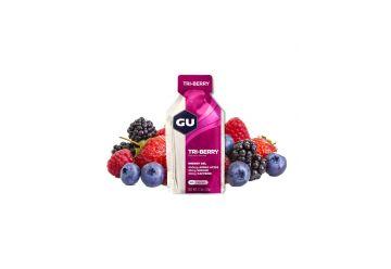 GU Energy Gel 32 g Tri Berry 1 SÁČEK - 1