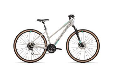 Rock Machine CrossRide 300 lady gloss light grey/dark grey/mint 2021 - 1