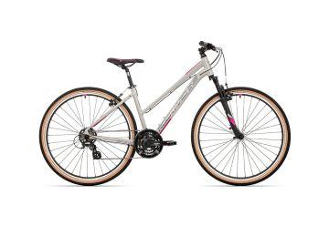 Rock Machine CrossRide 100 lady gloss light grey/dark grey/New pink 2021 - 1