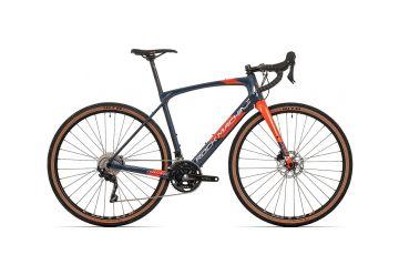 Rock Machine GravelRide CRB 700 gloss dark blue/brick orange/silver 2021 - 1
