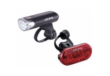Sada světel Cateye - HL-EL135/TL-LD135 - 1
