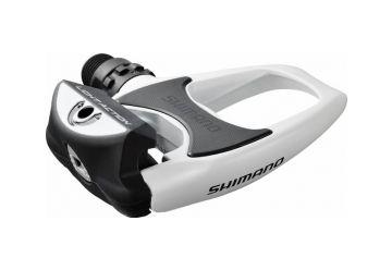 Pedaly Shimano - PD-R540 Bílé - 1