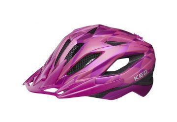 Přilba KED Street Junior Pro violet - 1