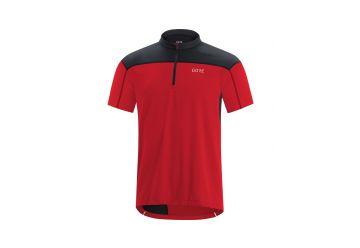 Pánský dres GORE C3 Zip Jersey-red/black - 1