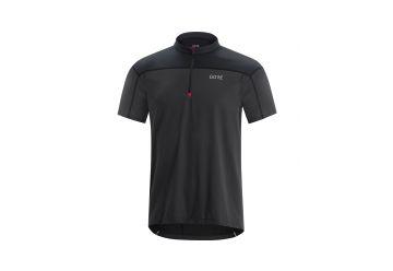 Pánský dres GORE C3 Zip Jersey-terra grey/black - 1