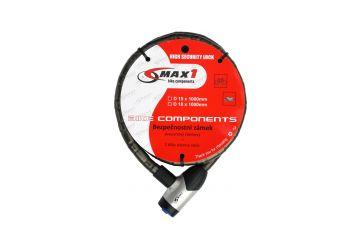 Zámek Max1 - Moto Článkový 1000x15 mm 4 klíče - 1