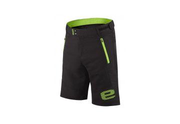 Etape - pánské volné kalhoty FREEDOM, černá/zelená - 1