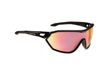 Sportovní fotochromatické brýle ALPINA S-WAY QVM+ Black matt - 1