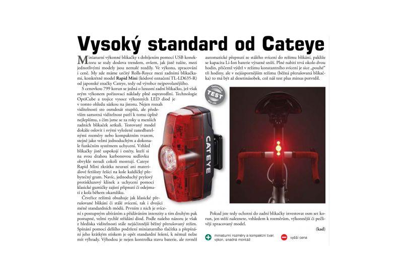 Světlo zad. Cateye TL-LD635-R Rapid Mini - 6