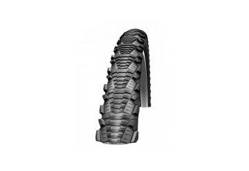 Plášť Schwalbe CX Comp 26x2.0 KevlarGuard černá+reflexní pruh - 1