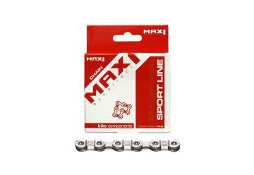 Řetěz Max1 - Stříbrný 9 speed - 1