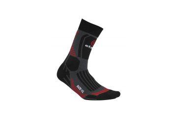 Etape ponožky Cross zimní , Black/red - 1