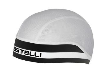 Čepice Castelli Summer Scullcap,White/black - 1