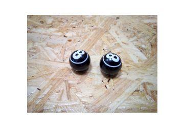 Čepička Max1 - Černá 8  na Auto (AV) ventilek - 1