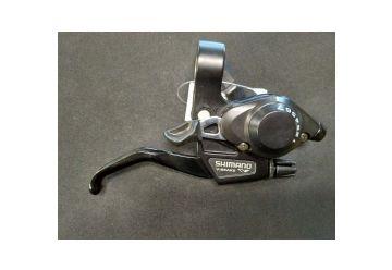 Brzdová/řadící páka Shimano - ST-EF28-7 Pravá Černá - 1