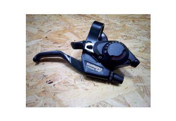 Brzdová/řadící páka Shimano - ST-EF28-8 Pravá Černá - 1
