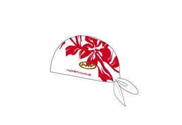 Northwave šátek ,White/red - 1