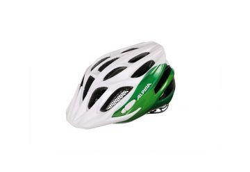 Dětská přilba Alpina FB Junior 2.0,White/green - 1