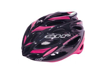 Silniční helma SH+ Shot R1,Black/pink - 1