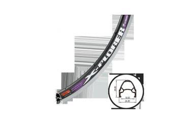 Ráfek Weinmann - X-Plorer 622x19 36 děr černý - 1
