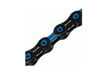 Řetěz KMC - X-11 SL DLC modro/černý v krabičce - 1