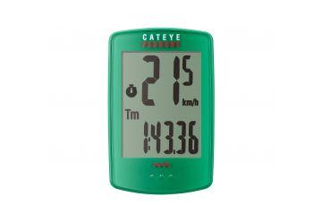 Cyklocomputer Cateye - Padrone (PA100W) zelená - 1