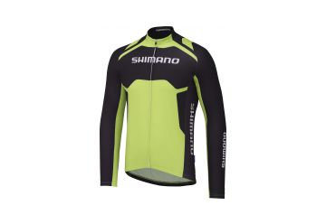Shimano dres Therma Print , Black/green - 1