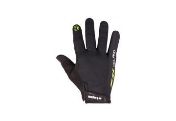 Rukavice Etape Spring plus ,Black/Limeta - 1