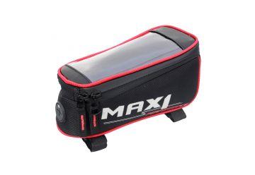 Brašna Max1 Mobile One červeno/černá - 1