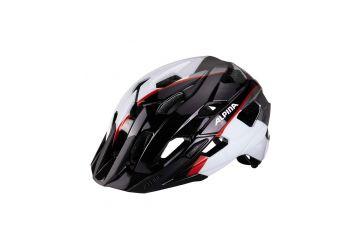 Přilba Alpina Yedon  Black/white/neon/red - 1
