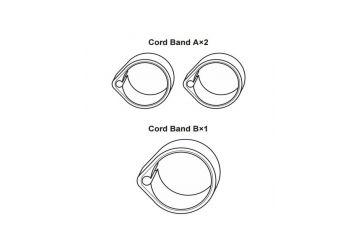 Gumičky Shimano - SW-E6000 Cord (7EU98010) - 1