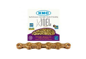 Řetěz KMC - X-10 EL Gold Light - 1
