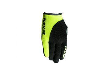 Polednik rukavice MXR Bavy , Black/green - 1