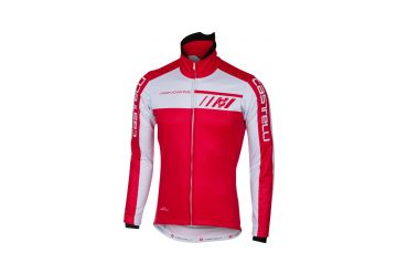Castelli bunda Velocissimo 2 ,Red/white - 1