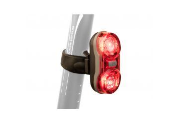 Světlo zad. Author A-Duplex X7 20 lm černá/červené-sklo - 1