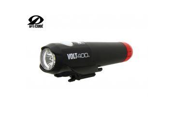 Světlo př. Cateye  HL-EL462RC-H Volt400 Duplex černá - 1